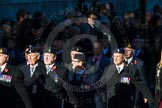 Remembrance Sunday Cenotaph March Past 2013: B18 - 3rd Regiment Royal Horse Artillery Association.. Press stand opposite the Foreign Office building, Whitehall, London SW1, London, Greater London, United Kingdom, on 10 November 2013 at 12:01, image #1446