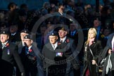 Remembrance Sunday Cenotaph March Past 2013: B18 - 3rd Regiment Royal Horse Artillery Association.. Press stand opposite the Foreign Office building, Whitehall, London SW1, London, Greater London, United Kingdom, on 10 November 2013 at 12:01, image #1447