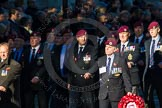 Remembrance Sunday Cenotaph March Past 2013: B22 - Airborne Engineers Association.. Press stand opposite the Foreign Office building, Whitehall, London SW1, London, Greater London, United Kingdom, on 10 November 2013 at 12:02, image #1483