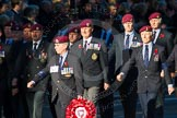 Remembrance Sunday Cenotaph March Past 2013: B22 - Airborne Engineers Association.. Press stand opposite the Foreign Office building, Whitehall, London SW1, London, Greater London, United Kingdom, on 10 November 2013 at 12:02, image #1484