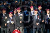 Remembrance Sunday Cenotaph March Past 2013: B22 - Airborne Engineers Association.. Press stand opposite the Foreign Office building, Whitehall, London SW1, London, Greater London, United Kingdom, on 10 November 2013 at 12:02, image #1485