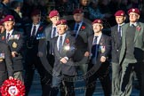 Remembrance Sunday Cenotaph March Past 2013: B22 - Airborne Engineers Association.. Press stand opposite the Foreign Office building, Whitehall, London SW1, London, Greater London, United Kingdom, on 10 November 2013 at 12:02, image #1487