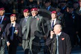 Remembrance Sunday Cenotaph March Past 2013: B22 - Airborne Engineers Association.. Press stand opposite the Foreign Office building, Whitehall, London SW1, London, Greater London, United Kingdom, on 10 November 2013 at 12:02, image #1489