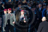 Remembrance Sunday Cenotaph March Past 2013: B22 - Airborne Engineers Association.. Press stand opposite the Foreign Office building, Whitehall, London SW1, London, Greater London, United Kingdom, on 10 November 2013 at 12:02, image #1490