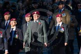 Remembrance Sunday Cenotaph March Past 2013: B22 - Airborne Engineers Association.. Press stand opposite the Foreign Office building, Whitehall, London SW1, London, Greater London, United Kingdom, on 10 November 2013 at 12:02, image #1491
