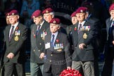 Remembrance Sunday Cenotaph March Past 2013: B22 - Airborne Engineers Association.. Press stand opposite the Foreign Office building, Whitehall, London SW1, London, Greater London, United Kingdom, on 10 November 2013 at 12:02, image #1494