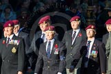 Remembrance Sunday Cenotaph March Past 2013: B22 - Airborne Engineers Association.. Press stand opposite the Foreign Office building, Whitehall, London SW1, London, Greater London, United Kingdom, on 10 November 2013 at 12:02, image #1495