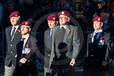 Remembrance Sunday Cenotaph March Past 2013: B22 - Airborne Engineers Association.. Press stand opposite the Foreign Office building, Whitehall, London SW1, London, Greater London, United Kingdom, on 10 November 2013 at 12:02, image #1497