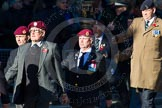Remembrance Sunday Cenotaph March Past 2013: B22 - Airborne Engineers Association.. Press stand opposite the Foreign Office building, Whitehall, London SW1, London, Greater London, United Kingdom, on 10 November 2013 at 12:02, image #1498