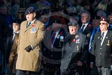 Remembrance Sunday Cenotaph March Past 2013: B23 - Mill Hill (Postal & Courier Services) Veterans' Association.. Press stand opposite the Foreign Office building, Whitehall, London SW1, London, Greater London, United Kingdom, on 10 November 2013 at 12:02, image #1500