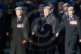 Remembrance Sunday Cenotaph March Past 2013: B25  - Army Air Corps Association.. Press stand opposite the Foreign Office building, Whitehall, London SW1, London, Greater London, United Kingdom, on 10 November 2013 at 12:02, image #1514