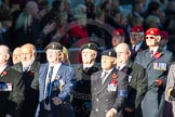 Remembrance Sunday Cenotaph March Past 2013: B32 - Royal Electrical & Mechanical Engineers Association.. Press stand opposite the Foreign Office building, Whitehall, London SW1, London, Greater London, United Kingdom, on 10 November 2013 at 12:04, image #1586
