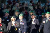 Remembrance Sunday Cenotaph March Past 2013: B37 - Intelligence Corps Association.. Press stand opposite the Foreign Office building, Whitehall, London SW1, London, Greater London, United Kingdom, on 10 November 2013 at 12:04, image #1613