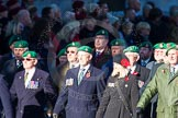 Remembrance Sunday Cenotaph March Past 2013: B37 - Intelligence Corps Association.. Press stand opposite the Foreign Office building, Whitehall, London SW1, London, Greater London, United Kingdom, on 10 November 2013 at 12:04, image #1616