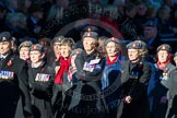 Remembrance Sunday Cenotaph March Past 2013: B39 - Queen Alexandra's Royal Army Nursing Corps Association.. Press stand opposite the Foreign Office building, Whitehall, London SW1, London, Greater London, United Kingdom, on 10 November 2013 at 12:04, image #1636