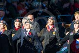 Remembrance Sunday Cenotaph March Past 2013: B39 - Queen Alexandra's Royal Army Nursing Corps Association.. Press stand opposite the Foreign Office building, Whitehall, London SW1, London, Greater London, United Kingdom, on 10 November 2013 at 12:04, image #1642