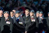 Remembrance Sunday Cenotaph March Past 2013: C2 - Royal Air Force Regiment Association.. Press stand opposite the Foreign Office building, Whitehall, London SW1, London, Greater London, United Kingdom, on 10 November 2013 at 12:05, image #1663