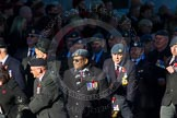 Remembrance Sunday Cenotaph March Past 2013: C2 - Royal Air Force Regiment Association.. Press stand opposite the Foreign Office building, Whitehall, London SW1, London, Greater London, United Kingdom, on 10 November 2013 at 12:05, image #1669