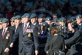 Remembrance Sunday Cenotaph March Past 2013: C2 - Royal Air Force Regiment Association.. Press stand opposite the Foreign Office building, Whitehall, London SW1, London, Greater London, United Kingdom, on 10 November 2013 at 12:05, image #1674
