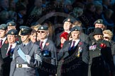 Remembrance Sunday Cenotaph March Past 2013: C2 - Royal Air Force Regiment Association.. Press stand opposite the Foreign Office building, Whitehall, London SW1, London, Greater London, United Kingdom, on 10 November 2013 at 12:05, image #1688