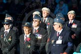 Remembrance Sunday Cenotaph March Past 2013: C5 - Royal Air Force Air Loadmasters Association.. Press stand opposite the Foreign Office building, Whitehall, London SW1, London, Greater London, United Kingdom, on 10 November 2013 at 12:06, image #1715