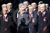 Remembrance Sunday Cenotaph March Past 2013: C6 - Royal Air Force Police Association.. Press stand opposite the Foreign Office building, Whitehall, London SW1, London, Greater London, United Kingdom, on 10 November 2013 at 12:06, image #1719