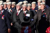 Remembrance Sunday Cenotaph March Past 2013: C6 - Royal Air Force Police Association.. Press stand opposite the Foreign Office building, Whitehall, London SW1, London, Greater London, United Kingdom, on 10 November 2013 at 12:06, image #1721