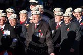 Remembrance Sunday Cenotaph March Past 2013: C6 - Royal Air Force Police Association.. Press stand opposite the Foreign Office building, Whitehall, London SW1, London, Greater London, United Kingdom, on 10 November 2013 at 12:06, image #1722