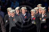 Remembrance Sunday Cenotaph March Past 2013: C6 - Royal Air Force Police Association.. Press stand opposite the Foreign Office building, Whitehall, London SW1, London, Greater London, United Kingdom, on 10 November 2013 at 12:06, image #1723