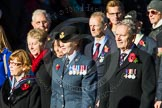 Remembrance Sunday Cenotaph March Past 2013: C8 - Bomber Command Association.. Press stand opposite the Foreign Office building, Whitehall, London SW1, London, Greater London, United Kingdom, on 10 November 2013 at 12:07, image #1741