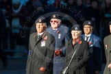 Remembrance Sunday Cenotaph March Past 2013: C9 - Royal Observer Corps Association.. Press stand opposite the Foreign Office building, Whitehall, London SW1, London, Greater London, United Kingdom, on 10 November 2013 at 12:07, image #1746