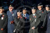 Remembrance Sunday Cenotaph March Past 2013: C9 - Royal Observer Corps Association.. Press stand opposite the Foreign Office building, Whitehall, London SW1, London, Greater London, United Kingdom, on 10 November 2013 at 12:07, image #1748