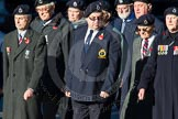 Remembrance Sunday Cenotaph March Past 2013: C9 - Royal Observer Corps Association.. Press stand opposite the Foreign Office building, Whitehall, London SW1, London, Greater London, United Kingdom, on 10 November 2013 at 12:07, image #1749