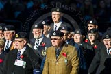 Remembrance Sunday Cenotaph March Past 2013: C9 - Royal Observer Corps Association.. Press stand opposite the Foreign Office building, Whitehall, London SW1, London, Greater London, United Kingdom, on 10 November 2013 at 12:07, image #1752