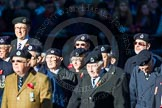 Remembrance Sunday Cenotaph March Past 2013: C9 - Royal Observer Corps Association.. Press stand opposite the Foreign Office building, Whitehall, London SW1, London, Greater London, United Kingdom, on 10 November 2013 at 12:07, image #1753