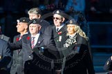 Remembrance Sunday Cenotaph March Past 2013: C9 - Royal Observer Corps Association.. Press stand opposite the Foreign Office building, Whitehall, London SW1, London, Greater London, United Kingdom, on 10 November 2013 at 12:07, image #1757