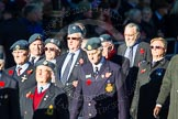 Remembrance Sunday Cenotaph March Past 2013: C10 - National Service (Royal Air Force) Association.. Press stand opposite the Foreign Office building, Whitehall, London SW1, London, Greater London, United Kingdom, on 10 November 2013 at 12:07, image #1773
