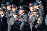 Remembrance Sunday Cenotaph March Past 2013: M1 - Transport For London.. Press stand opposite the Foreign Office building, Whitehall, London SW1, London, Greater London, United Kingdom, on 10 November 2013 at 12:09, image #1855