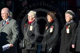 Remembrance Sunday Cenotaph March Past 2013: M5 - Evacuees Reunion Association.. Press stand opposite the Foreign Office building, Whitehall, London SW1, London, Greater London, United Kingdom, on 10 November 2013 at 12:10, image #1905
