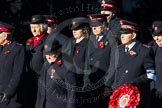 Remembrance Sunday Cenotaph March Past 2013: M7 - Salvation Army.. Press stand opposite the Foreign Office building, Whitehall, London SW1, London, Greater London, United Kingdom, on 10 November 2013 at 12:10, image #1923