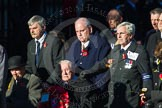 Remembrance Sunday Cenotaph March Past 2013: M11 - British Resistance Movement (Coleshill Auxiliary Research Team).. Press stand opposite the Foreign Office building, Whitehall, London SW1, London, Greater London, United Kingdom, on 10 November 2013 at 12:10, image #1938