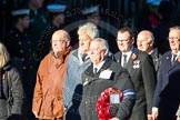 Remembrance Sunday Cenotaph March Past 2013: M15 - London Ambulance Service Retirement Association.. Press stand opposite the Foreign Office building, Whitehall, London SW1, London, Greater London, United Kingdom, on 10 November 2013 at 12:11, image #1991