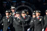 Remembrance Sunday Cenotaph March Past 2013: M16 - St John Ambulance.. Press stand opposite the Foreign Office building, Whitehall, London SW1, London, Greater London, United Kingdom, on 10 November 2013 at 12:11, image #1998