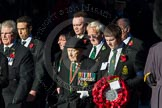 Remembrance Sunday Cenotaph March Past 2013: M20 - Ulster Special Constabulary Association.. Press stand opposite the Foreign Office building, Whitehall, London SW1, London, Greater London, United Kingdom, on 10 November 2013 at 12:11, image #2018