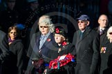 Remembrance Sunday Cenotaph March Past 2013: M23 - Civilians Representing Families.. Press stand opposite the Foreign Office building, Whitehall, London SW1, London, Greater London, United Kingdom, on 10 November 2013 at 12:12, image #2059