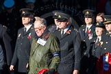 Remembrance Sunday Cenotaph March Past 2013: M24 - Royal Mail Group Ltd.. Press stand opposite the Foreign Office building, Whitehall, London SW1, London, Greater London, United Kingdom, on 10 November 2013 at 12:12, image #2070