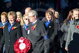 Remembrance Sunday Cenotaph March Past 2013: M27 - PDSA.. Press stand opposite the Foreign Office building, Whitehall, London SW1, London, Greater London, United Kingdom, on 10 November 2013 at 12:12, image #2088