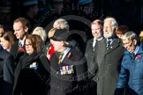 Remembrance Sunday Cenotaph March Past 2013: M33 - Ministry of Defence.. Press stand opposite the Foreign Office building, Whitehall, London SW1, London, Greater London, United Kingdom, on 10 November 2013 at 12:12, image #2129
