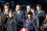 Remembrance Sunday Cenotaph March Past 2013: M39 - National Association of Round Tables.. Press stand opposite the Foreign Office building, Whitehall, London SW1, London, Greater London, United Kingdom, on 10 November 2013 at 12:14, image #2175