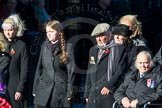 Remembrance Sunday Cenotaph March Past 2013: M44 - Romany & Traveller Society.. Press stand opposite the Foreign Office building, Whitehall, London SW1, London, Greater London, United Kingdom, on 10 November 2013 at 12:14, image #2209